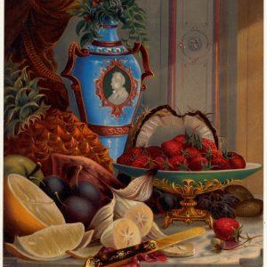Mutfağınız İçin Yağlı Boya Çalışması Meyvalar