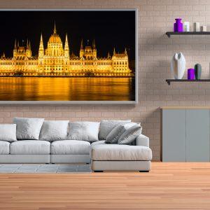 Budapeşte Parlamento Binası Gece