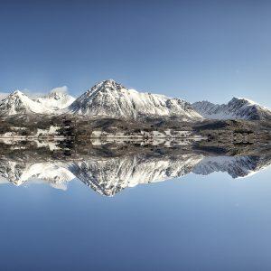 Norveç Sıradağlar Büyük Ebatlarda
