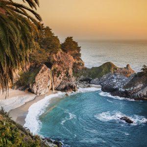 Big Sur California Beach Büyük Ebatlarda
