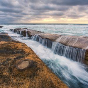 Pasifik Kıyıları Kayalıklar ABD