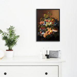 Meyva Harmonisi 2 Mutfağınız İçin Yağlı Boya Çalışması