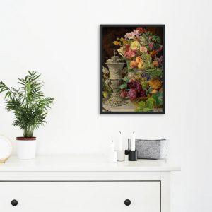 Meyva Harmonisi 3 Mutfağınız İçin Yağlı Boya Çalışması