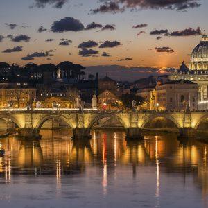 Saint Peter's Square Rome Aziz Petrus Meydanı Roma