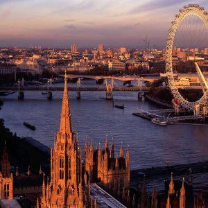 Londra Big Ben Saat Kulesi